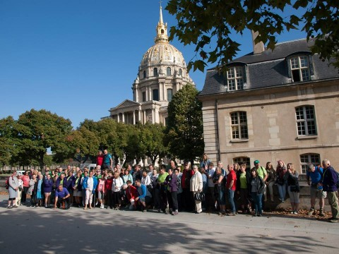 Le livre d'or de notre voyage à Paris