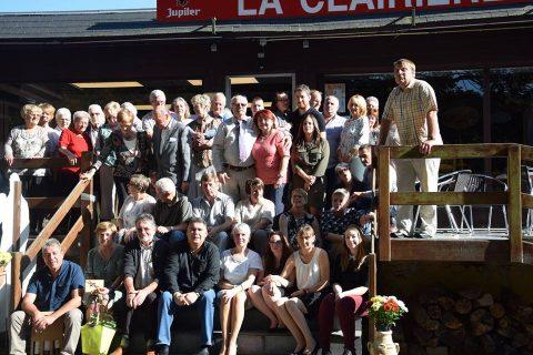 Dîner des Sympas à «La Clairière» le 15 octobre 2017